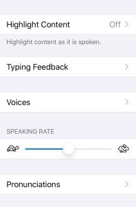 Speaking Rate
